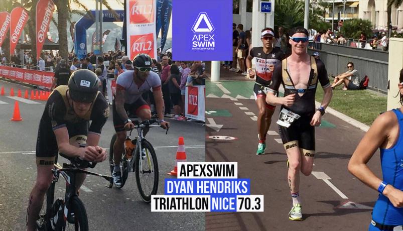 Apexswim Team Dyan Hendriks Ironman 70.3 Nice