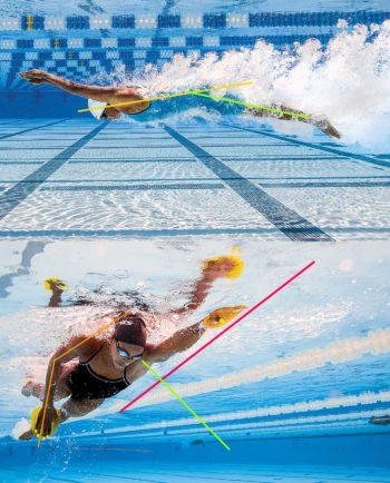 Video Analyse zwemtechniek