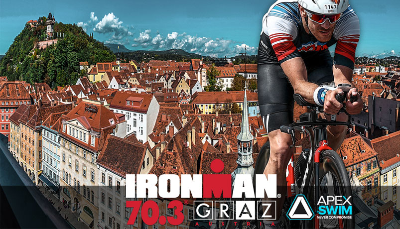 Train met Apexswim richting de IRONMAN 70.3 triathlon in GRAZ