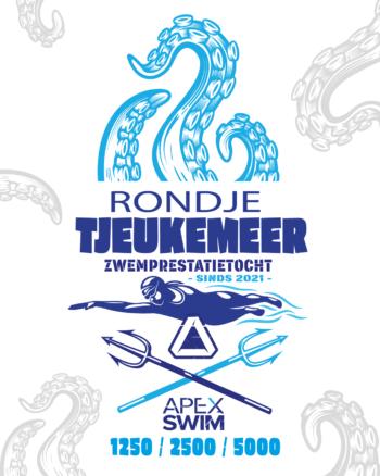Zwemtraining open water prestatie zwemtocht Rondje Tjeukemeer